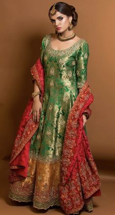 Pakistani Formal Dresses, Pakistani Wedding Outfits, Wedding Dresses For Girls, Party Wear Dresses, Bridal Outfits, Indian Dresses, Indian Outfits, Eid Outfits, Nikkah Dress