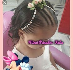Little Girl Hairstyles, Braided Hairstyles, Disney Drawings, Braids, Hair Styles, Lima, Beauty, Fashion, Plaits Hairstyles