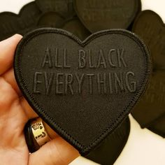 """3,039 Likes, 108 Comments - CURLY SUE (@shop.curlysue) on Instagram: """"♥ NEW PATCHES ♥ the original black and grey All Black Everything patches have been restocked (pre-…"""""""