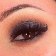 smokey navy blue eye make up for brown eyes | smokey eye prom blue makeup eye eyeshadow lashes