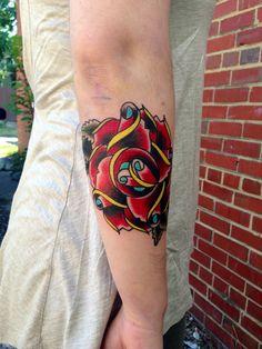 Sunflower tattoo by greg french richmond va tattoos by for Tattoos richmond va