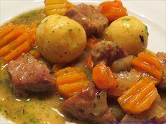 Vogelsberger Motten (Schweinefleisch-Karotten-Ragout)