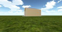 3D #architecture via @themuellerinc http://ift.tt/2m5cUkd #barn #workshop #greenhouse #garage #DIY