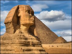 0157 The Sphinx and the Pyramid by Quim Granell