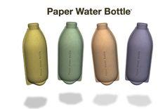 The Dieline Awards Paper Water Bottle — The Dieline - Branding & Packaging Design Cool Packaging, Beverage Packaging, Bottle Packaging, Design Packaging, Paper Water Bottle, Eco Friendly Water Bottles, Natural Man, Packaging Design Inspiration, Design Ideas