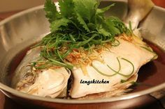 Kitchen Chaos: Cantonese Style Steamed Fish 粤式蒸鱼