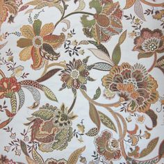 Jacobean fabric from Rodeo Home