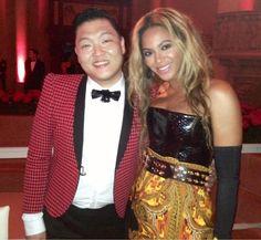 Beyoncé & PSY #METGala