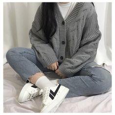 Ulzzang Girl Fashion, Korean Girl Fashion, Korean Street Fashion, 80s Fashion, Fashion Outfits, Fashion Tips, Petite Fashion, Style Fashion, Classy Fashion