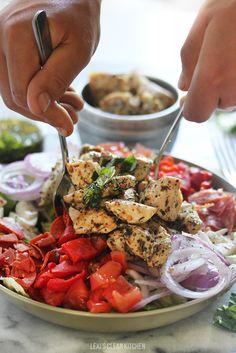 Antipasto Chopped Chicken Salad | Lexi's Clean Kitchen