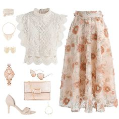 Chicwish Site - Pin to Pin Boho Outfits, Dressy Outfits, Skirt Outfits, Stylish Outfits, Look Fashion, Womens Fashion, Modelos Fashion, Outfit Trends, Looks Chic