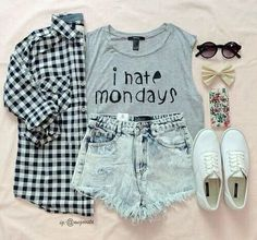 Teenage Fashion Blog: I Hate Mondays Teenage Outfit