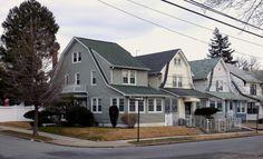 Houses in Hollis, Queens.