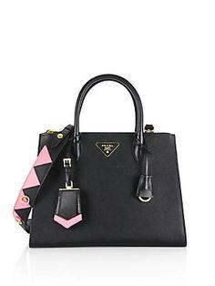 8e14246e8fc Prada - Paradigme Saffiano Leather Tote. Prada Bag · Prada Handbags ·  Fashion Handbags · Fashion Bags ...