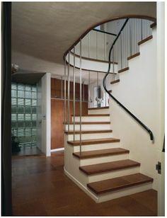 Walter Gropius House. Staircase.