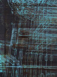 Jaime Franco: Entramado. 2011. oil on canvas. 152 x 112 cm. http://www.jaimefrancog.com/2011-c1z8u?lightbox=image_3uk