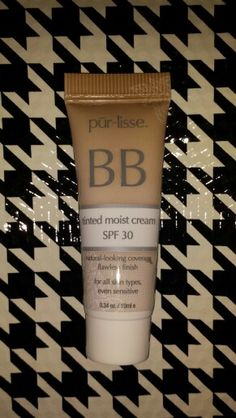 ❎TRADED/Shelly K❎         Pur~lisse BB Tinted Moist Cream~~SPF 30~~Good For All Skin Types~~No Color Indicated     ***New/Sealed/Deluxe Sample***