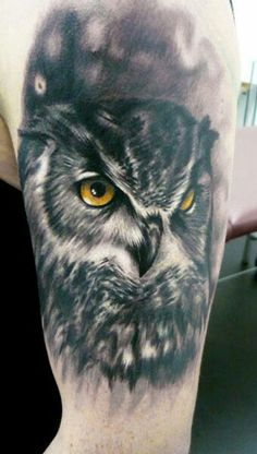 Owl Tattoo..