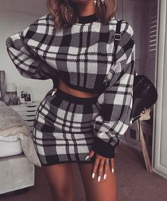 Casual Winter Outfits Ideas for 2019 Glamouröse Outfits, Skirt Outfits, Trendy Outfits, Fashion Outfits, Womens Fashion, Fashion Pics, Fall Winter Outfits, Winter Fashion, Summer Outfits