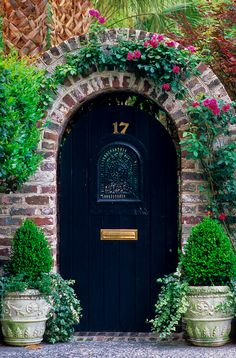 garden entrance <3