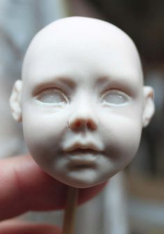 Art dolls by Claudine Roelens: Tutorial for creating the head