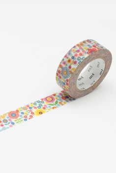 mini flower garden washi tape