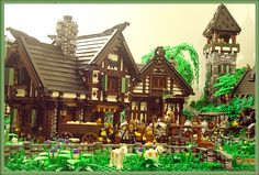 Guide to building a LEGO Castle village