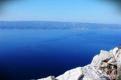 Adriatyk widziany z Twierdzy Starigrad (Fortica) w Omišu || http://crolove.pl/twierdza-starigrad-fortica-omisu/ || Omis #Chorwacja #Croatia #Hrvatska