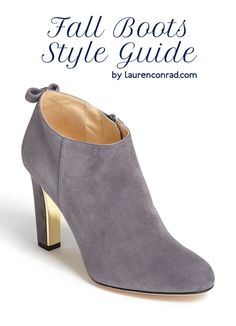 Style Guide: How to Find the Perfect Fall Boots | LaurenConrad.com