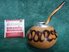 1 Gourd 1 Bombilla Straw 1 Yerba Mate Tea Bag Infusion Argentino Gaucho Uruguay Brazil Paraguay Chile Tango by robertolascano on Etsy