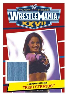 Exclusive: Trish Stratus goes to the mat with Topps WWE Heritage Wwe Events, Wwe Trish, Wwe Ppv, Watch Wrestling, Trish Stratus, Pay Per View, Great Women, Professional Wrestling, Wwe Divas
