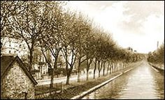 Blomfield Road and the Regent's Canal, around 1910