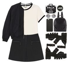 """Pack and go: Milan"" by blood-under-the-skin ❤ liked on Polyvore featuring Monki, Kenzo, Windsor Smith, Black Apple, Christian Lacroix, The Row, women's clothing, women, female and woman"