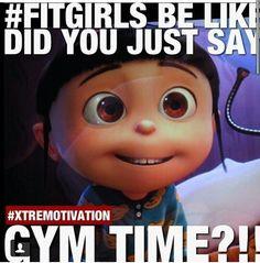 Gym humor...gotta love fit girls!!