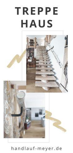 Hier kannst Du Dir Deine Treppe genau so anfertigen lassen, wie Du sie Dir wünscht! Lass Dich auf unserer Website von vergangenen Projekten inspirieren und frage Deine Treppe unverbindlich an - gerne einfach per Screenshot! #HandlaufMeyer #Treppe #Treppenhausgestalten Architecture Interior Design, Easter Activities