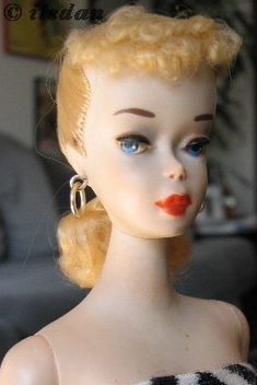 Mattel Barbie doll PT ponytail #3 1960s Doll links; everything you ever wanted to know For doll collectors on the Internet.