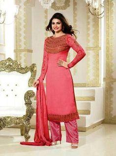 6acfc83e36 Vinay Fashion 2672 Pink Color Georgette Long Designer Suit Pakistani Salwar  Kameez, Churidar Suits,