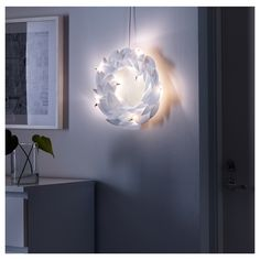 IKEA - STRÅLA, LED wreath, , Easy to place anywhere as it is battery operated and does not need to be connected to the main supply.The LED light bulb consumes up to At Home Furniture Store, Modern Home Furniture, Ikea Xmas, Led, Liatorp, Holiday Essentials, Old Fashioned Christmas, Incandescent Bulbs, Products