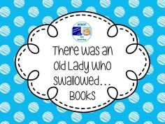 There Was an Old Lady Who Swallowed...Books Pinterest Board