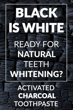 Black Is White Toothpaste is made with Activated Charcoal for natural whitening without abrading or damaging your enamel. Ditch the strips! Get Black Is White!   Learn more: https://shop.curaprox.us.com/toothpaste/133-black-is-white-toothpaste.html