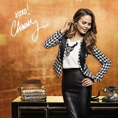 The First Images from Chrissy Teigen's XOXO Campaign Are Here!  #InStyle #chrissyteigen #fashion