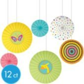 Fisher Price Paper Fan Baby Shower Decorations - Party City