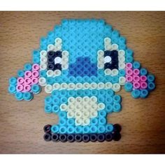 Stitch hama beads by thecatscratch