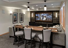 45 Inexpensive Small Movie Room Design Ideas For FamilyInexpensive Small Movie Room Design Ideas For Family room movie theater set upLiving room movie theater set Best Small Movie Room Design For Your Happiness Basement Makeover, Basement Renovations, Home Renovation, Home Remodeling, Basement Plans, Bathroom Remodeling, Home Cinema Room, Home Theater Rooms, Home Theater Design