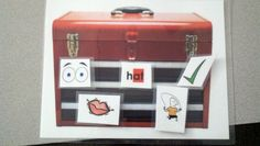A toolbox to keep all my fix up strategies in!