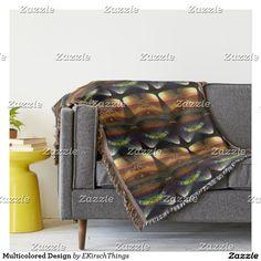 Multicolored Design Throw