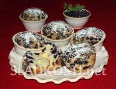 Jogurtové muffiny s borůvkami
