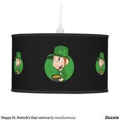 Happy St. Patrick's Day cartoon Pendant Lamp