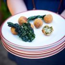 Try the Kale and Mushroom Croquetas Recipe on williams-sonoma.com/