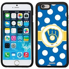 Milwaukee Brewers - Glove Polka design on Black iPhone 6 / 6s Guardian Case Coveroo http://www.amazon.com/dp/B018N89BNC/ref=cm_sw_r_pi_dp_lLtVwb15QGVX1